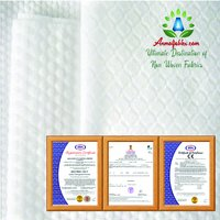 INDIA WHOLESALE 80GSM PEARL-DOT PATTERN POLYESTER/VISCOSE SPUNLACE NONWOVEN FABRIC FOR WET WIPES