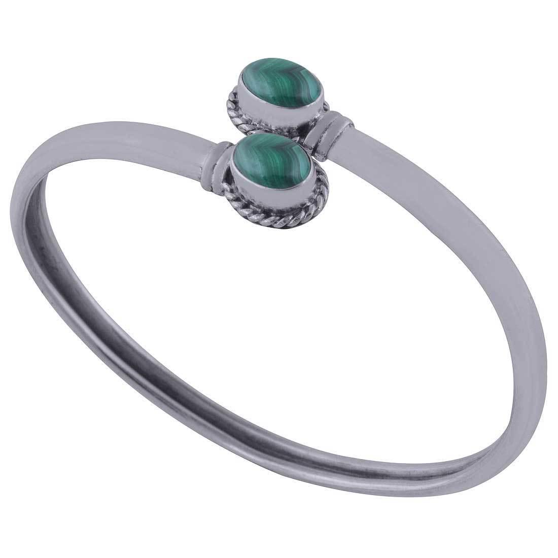 Carnelian Natural Gemstone Oval 925 Sterling Solid Silver Handmade Bangle