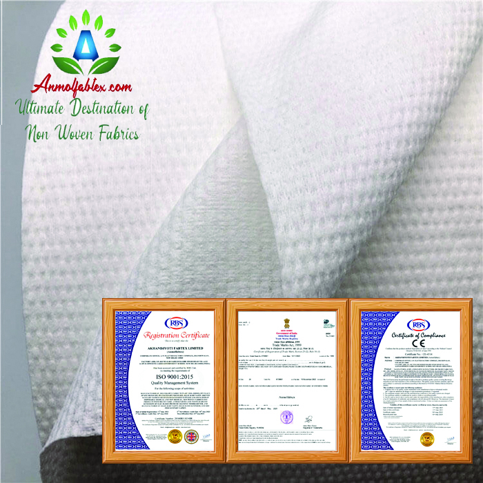 BEAUTY CARE SPUNLACE NONWOVEN FABRIC FOR WET WIPE
