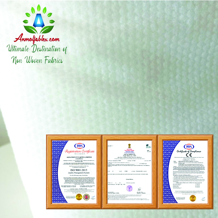QUALITY FORMALDEHYDE-FREE SPUNLACE NONWOVEN FABRIC FOR WET WIPES