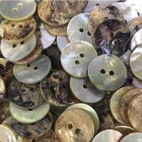 Natural Akoya Shell Buttons