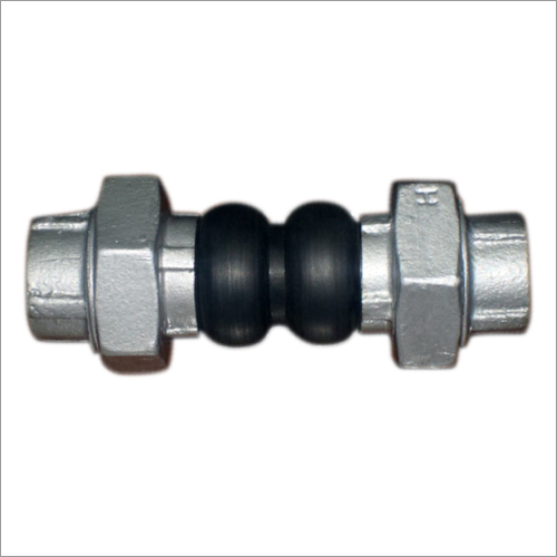 Neoprene Twin Sphere Connectors with Union Threads