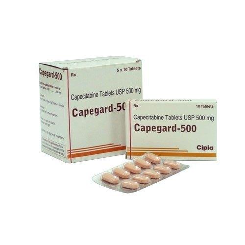 Capegard 500 Tablet (Capecitabine (500mg)