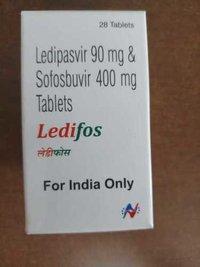 Ledipasvir and sofosbuvir