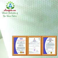 EMBOSSED SPUNLACE NON WOVEN FABRIC