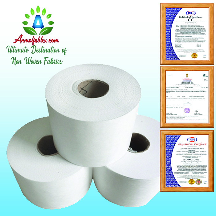 FACTORY SUPPLY MELTBLOWN NONWOVEN FABRIC/PP MELT BLOWN FABRIC FOR FACE MASK MAKE