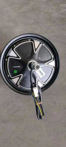 hub motor and controller