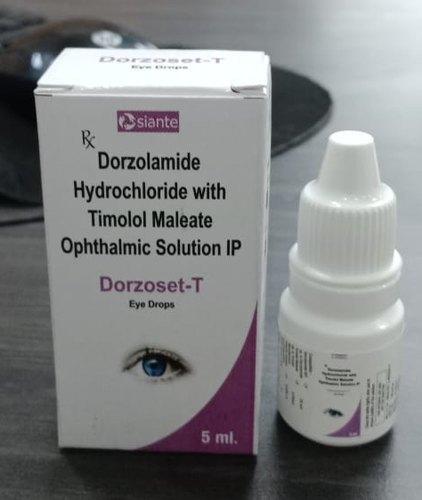 Dorzolamide Hydrochloride and Timolol Eye Drops