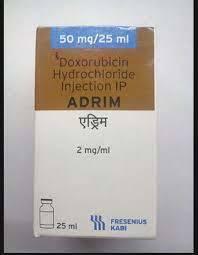 Adrim 50mg Injection(Doxorubicin (Plain) (50mg)