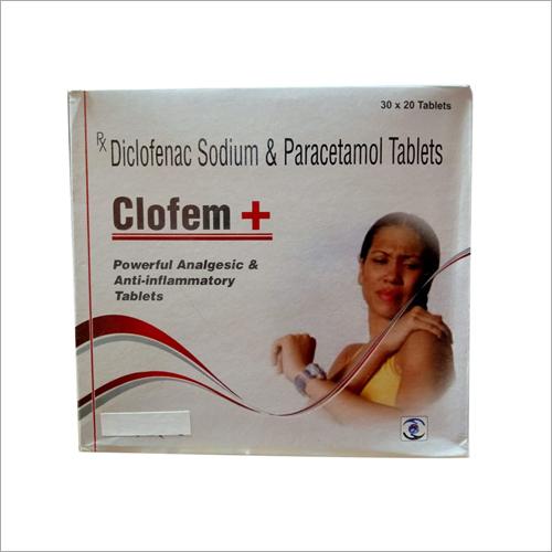 Diclofenac Sodium and Paracetamol Tablets