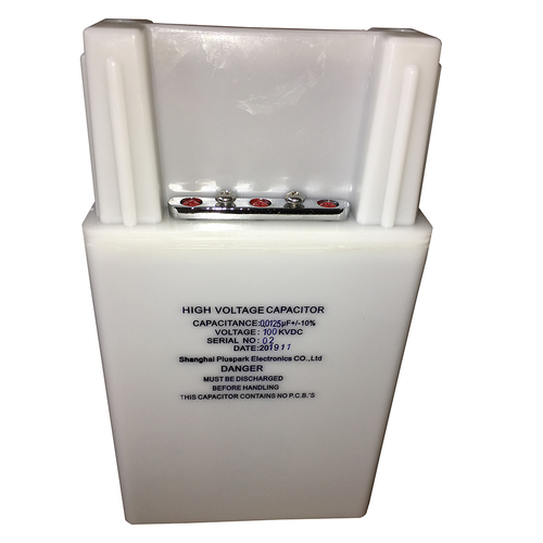 High Voltage Capacitor 100kV 0.0125uF,1PPS Pulse Capacitor 12.5nF 100000V.DC