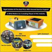 Vehicle Pollution Check Machine
