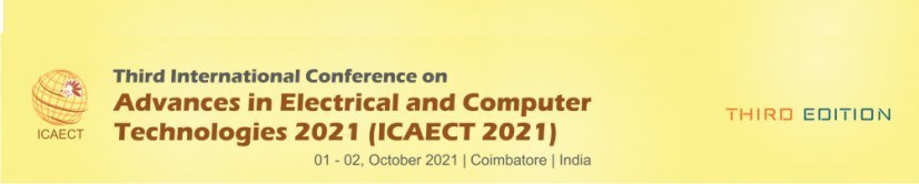 Third International Conference on Advances in Electrical and Computer Technologies 2021 (ICAECT 2021)
