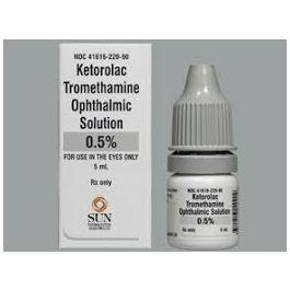 Ketorolac Tramthamine Eye Drops
