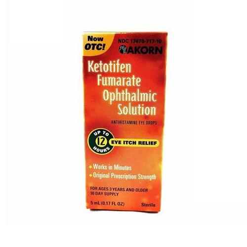 Ketotifen Fumarate Eye Drops