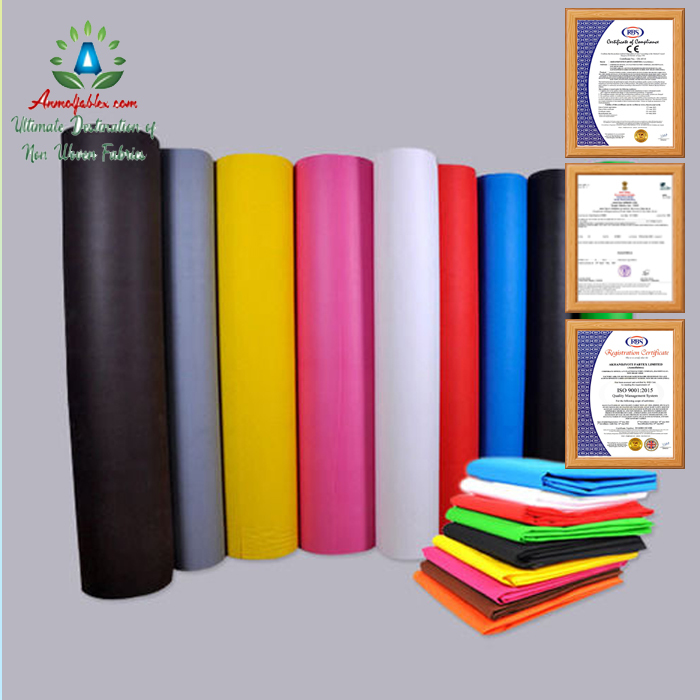 GOOD ELASTICITY SPUNBOND 55GSM NONWOVEN FABRIC FOR EAR LOOP