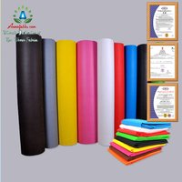 BREATHABLE WHITE PP NON WOVEN FABRIC LARGE ROLLS 100% PP POLYPROPYLENE SPUNBOND NONWOVEN FABRIC