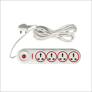 White Wire and Length 4M AMAZE Power Strips