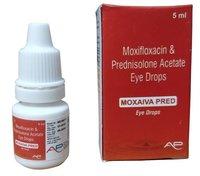 Moxifloxacin and Prednisolone Acetate Eye Drops