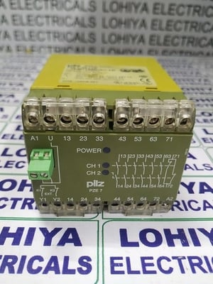 PILZ SAFETY RELAY MODULE PZE7 6S/10