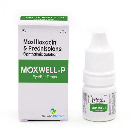 Moxyfloxacin + Predenisolone Eye Drops