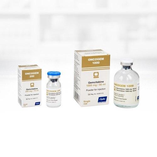 Oncogem 1.4gm/1G/200GM Injection(Gemcitabine (1.4gm)