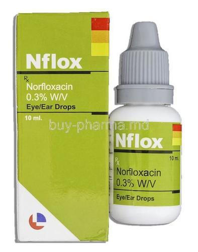 Norfloxacin Eye/Ear Drops