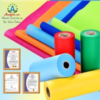 SPUNBOND NONWOVEN FABRIC EXCELLENT PROPERTY OF AIR THROUGH