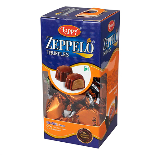Orange Flavour Zeppelo Truffles Chocolate