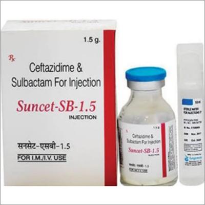 Ceftazidime And Sulbactam For Injection