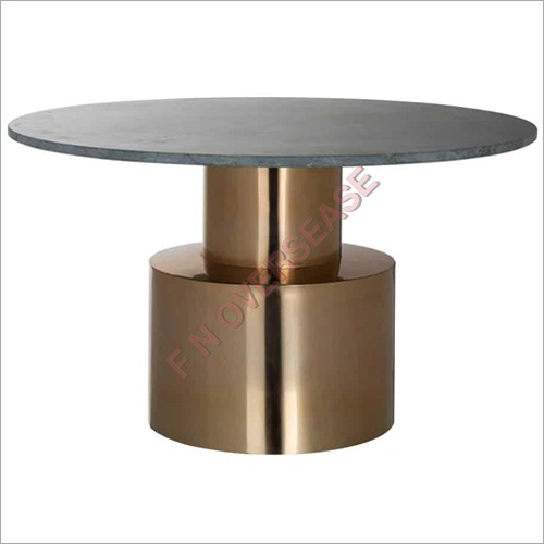 Hogan Coffee Table With Vintage Brass Finish
