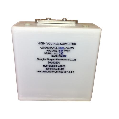 HV Capacitor 100kV 0.008uF,Fast Pulse Capacitor 8nF 100000V