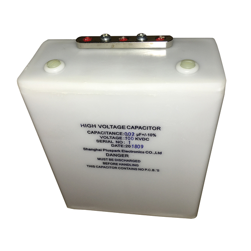 Fast Pulse Capacitor 100kV 0.02uF,High Voltage Capacitor 20nF 100000V.dc