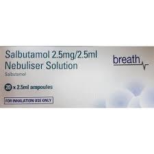 Salbutamol Nebuliser Solution
