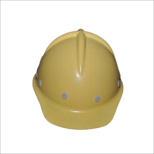 Yellow FRP Safety Helmet