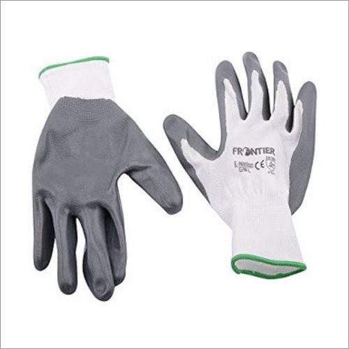 Grey Nitrile Gloves