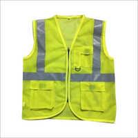 Polyester Plain Reflective Jacket