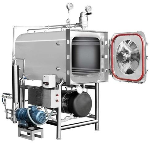 Steri Horizontal Rectangular steam sterilizer HPHV