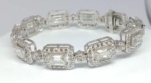 Real diamond bracelet