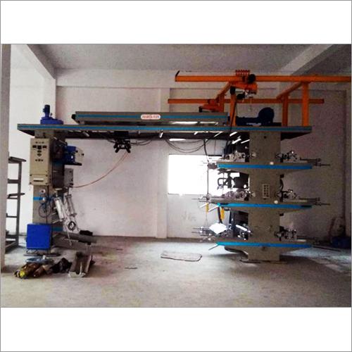Six HDPE Woven Sack Bag Printing Machine