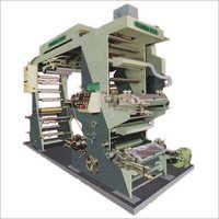 Four Colour Flexographic Printing Machine