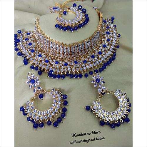 Beautiful Royal Blue Heavy Jewelry