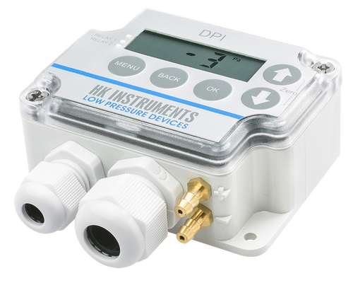 Differential pressure switch and transmitter, DPI
