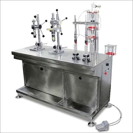 Semiautomatic   2 Nozzle  Vacuum Perfume Filling  Machine