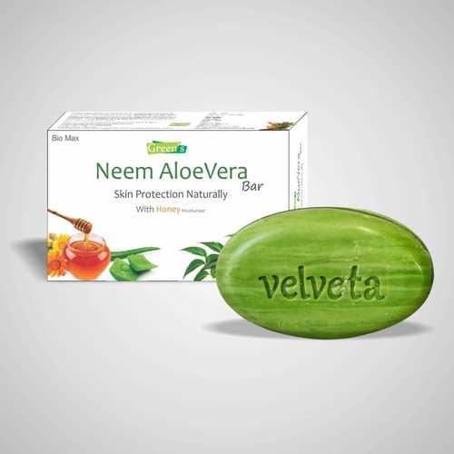 Ayurvedic Natural Herbal Neem Aloevera Honey Soap Anti Bacteriol