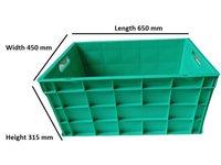 Crate Green Sch 650x450x315 1000000656