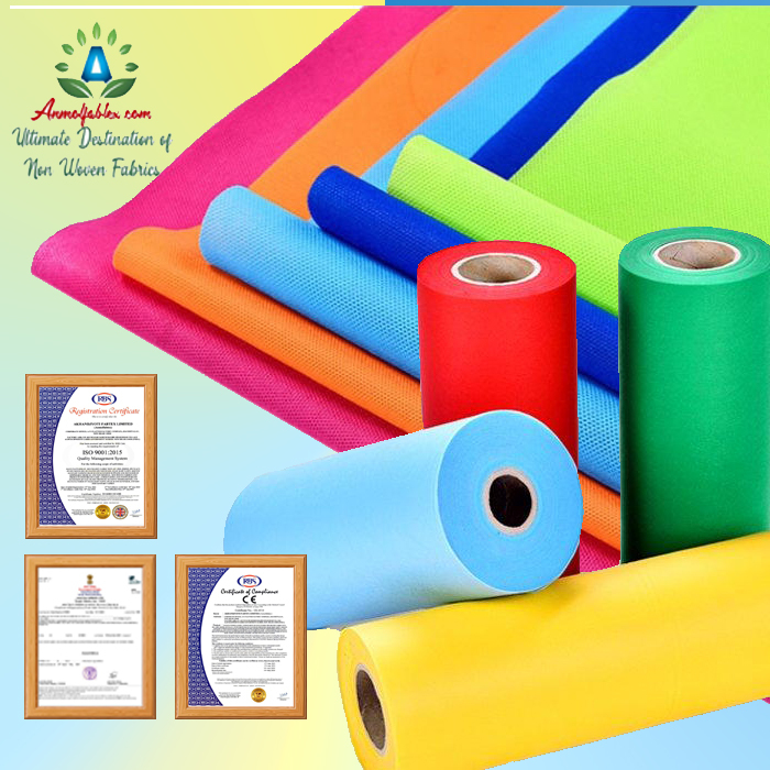 SPUNBOND NONWOVEN FABRIC ECO-FRIENDLY, WATER REPELLENT