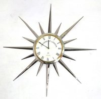 Brass Designers Wall Clock
