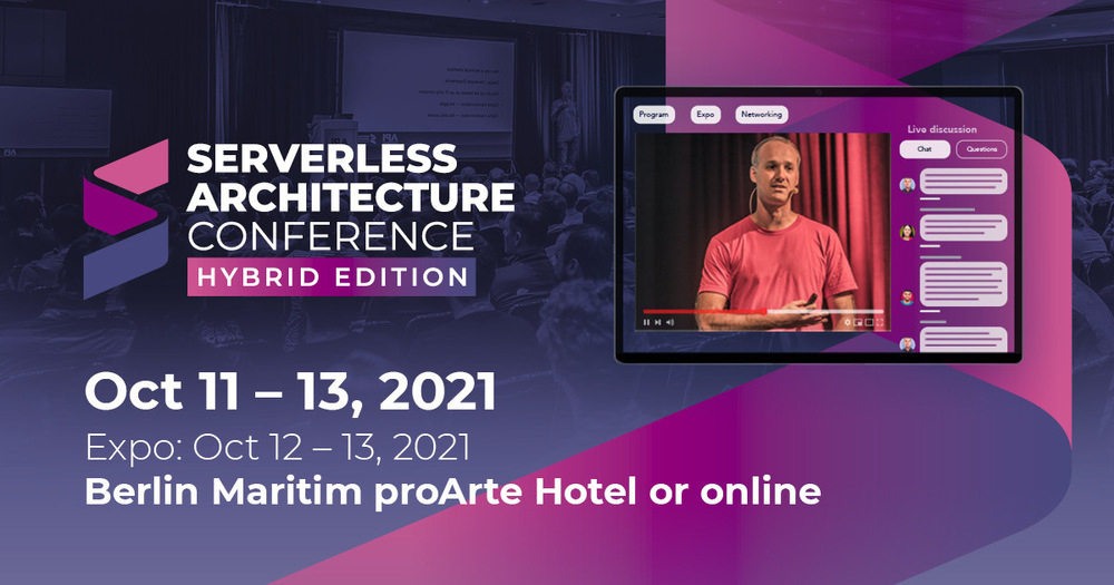 Serverless Architecture Conference Berlin 2021