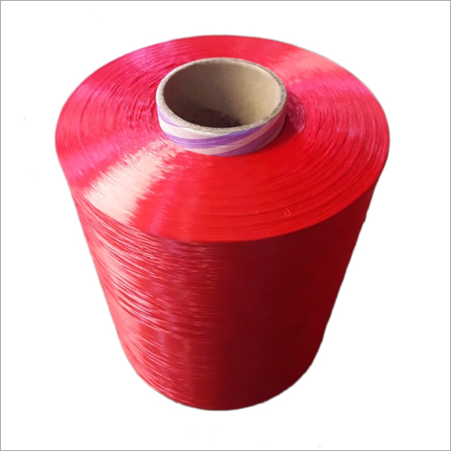 Red PP Multifilament Yarn